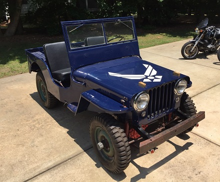old Jeep project
