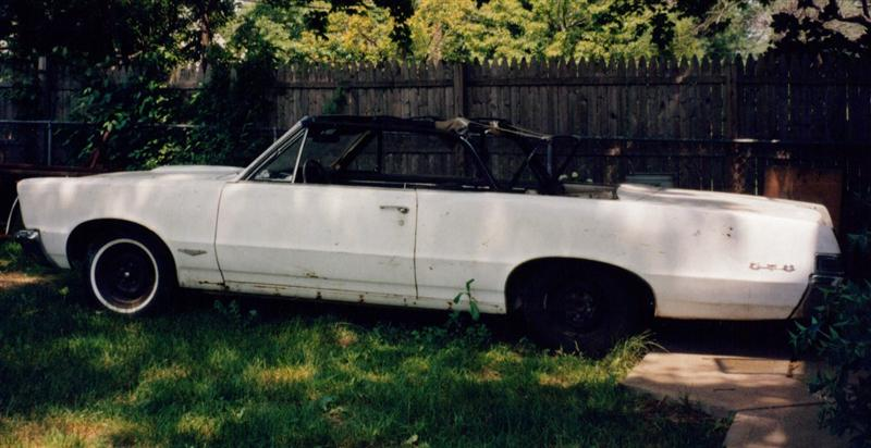 1965 GTO muscle car project