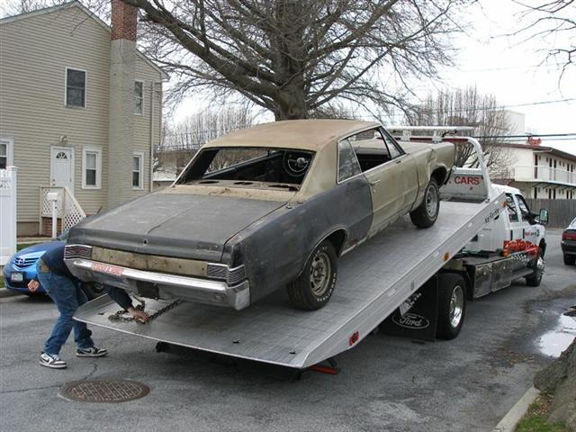 1965 GTO project
