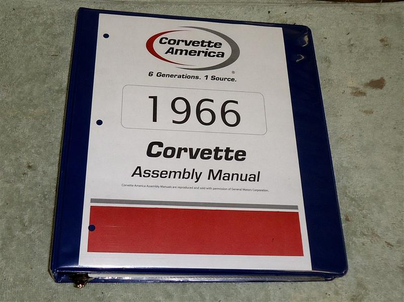 1966 Corvette assembly manual