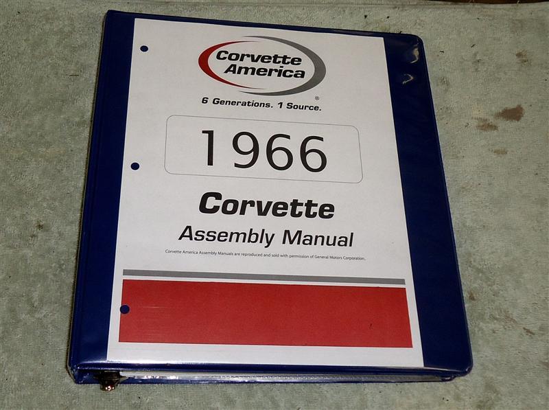 1966 Corvette assembly manual