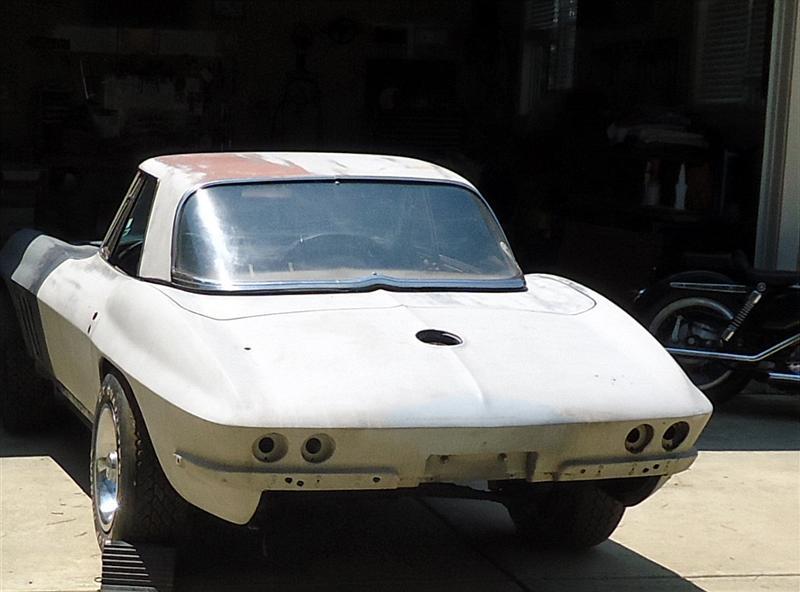 Restore an old Corvette
