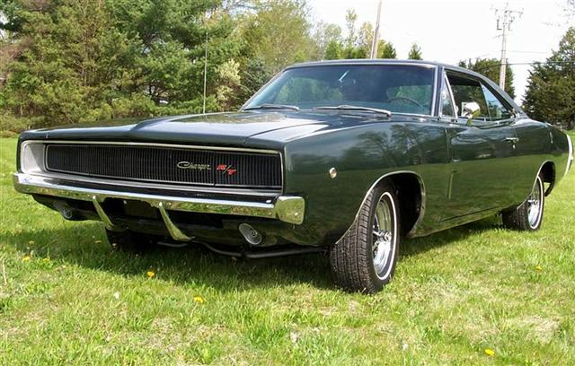 1968 Dodge Charger is a good classic car to restore