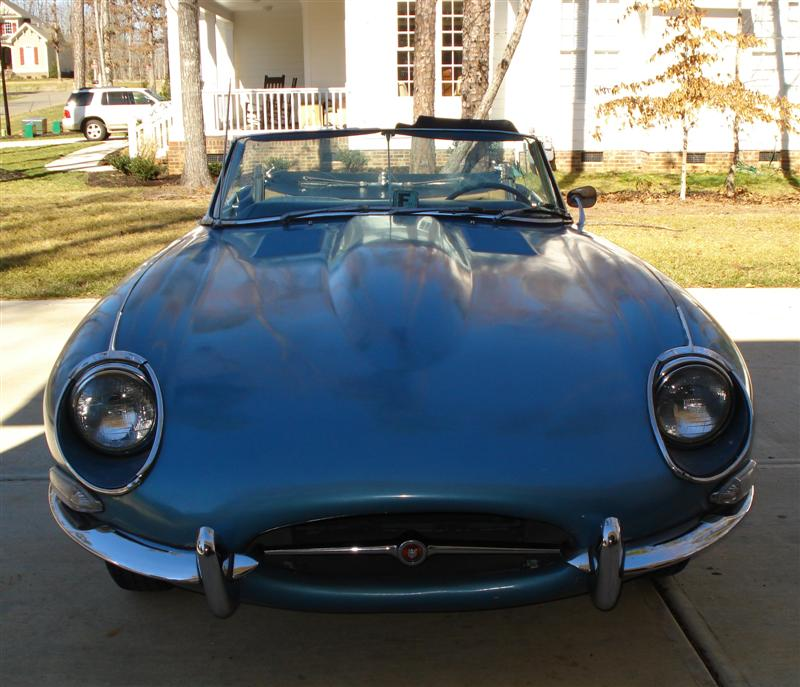 1968 Jaguar XKE restoration by Mark Trotta