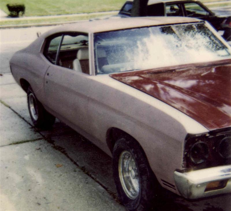 1970 Chevelle bodywork and paint