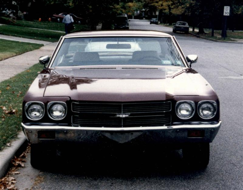 1970 Chevelle restoration by Mark Trotta