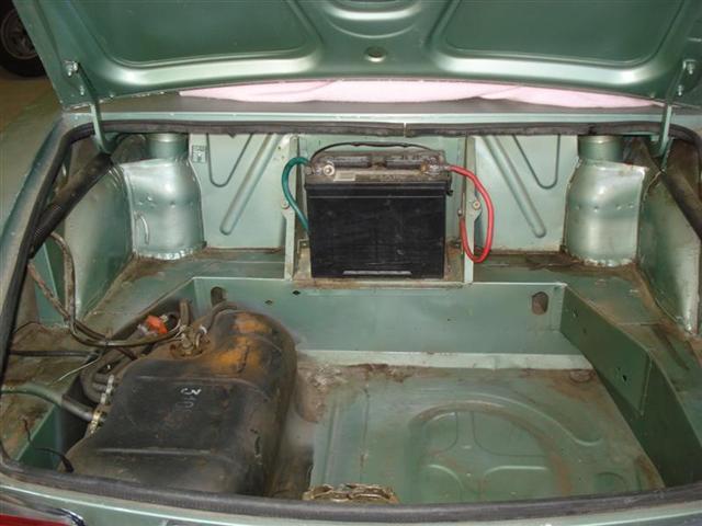 classic Fiat Spider restoration