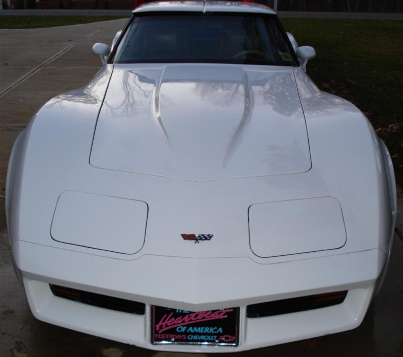 1982 Corvette after restoration