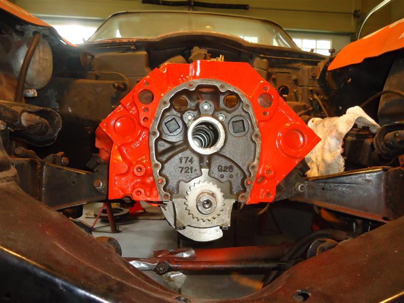 installing cam on 327 Corvette