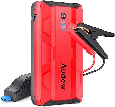 Audew Portable Car Jump Starter Battery Booster
