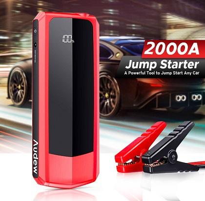 2000 amp battery jump starter