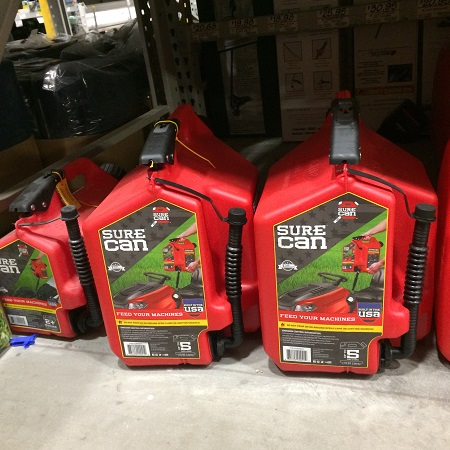 best gas can for garage storage