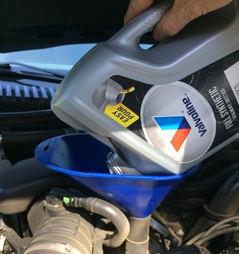 high mileage vs full synthetic oil