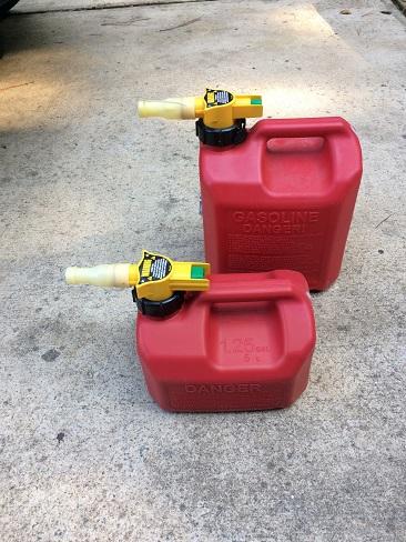 best plastic gas jug