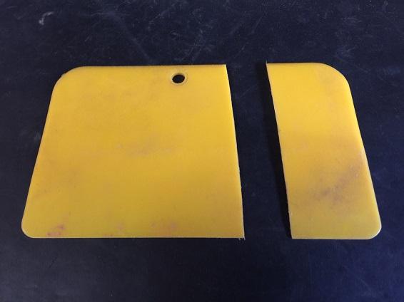 body filler applicator to repair body panels