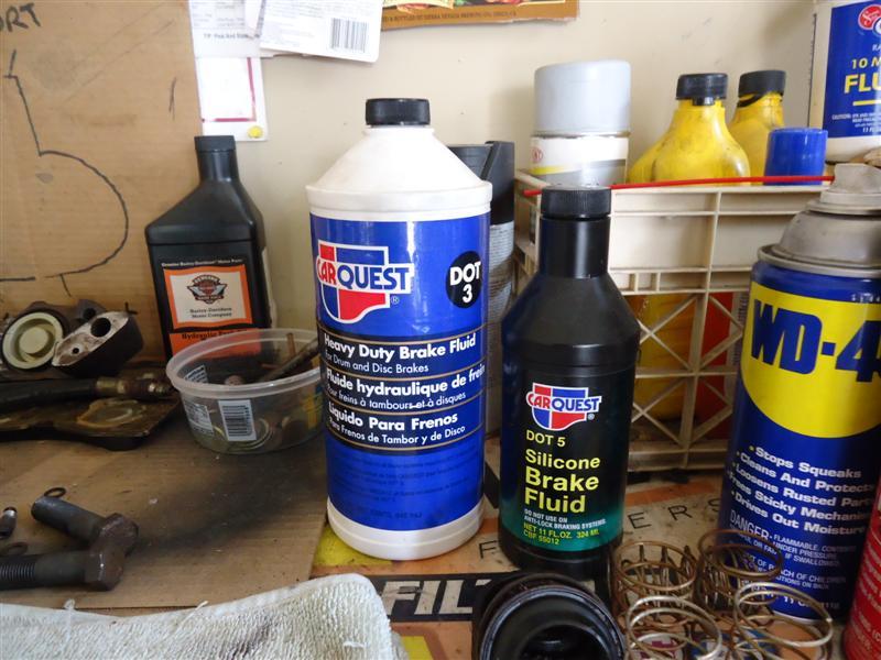 DOT 3 brake fluid for classic cars