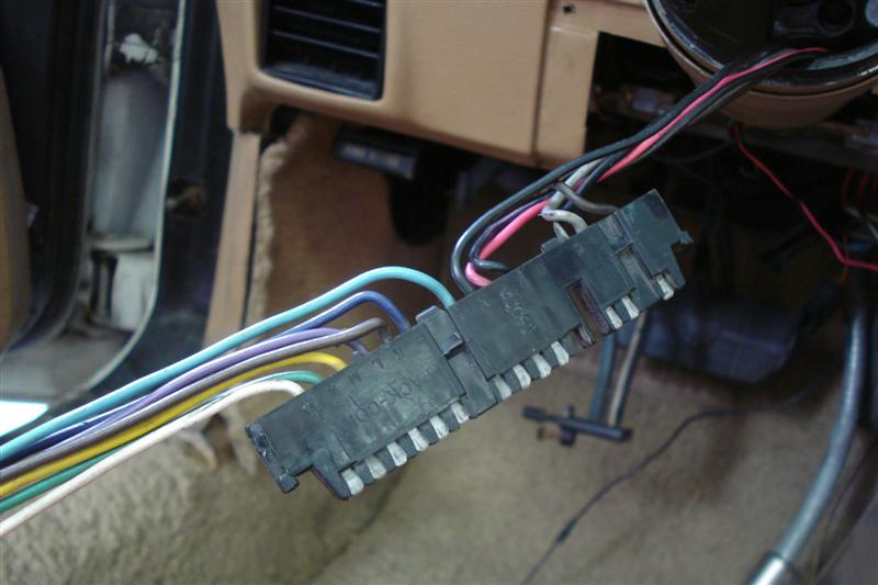 1982 Corvette turn signal switch installation