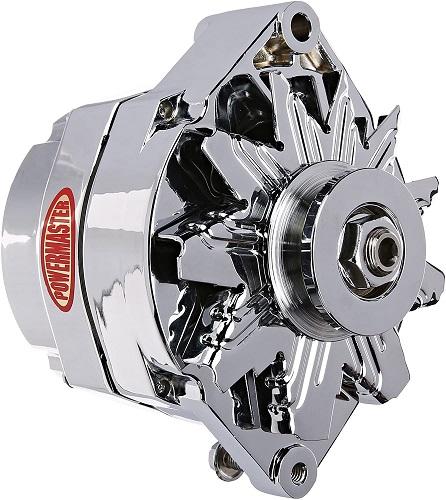 chrome alternator for hot rod build