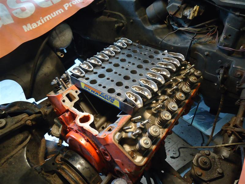 install camshaft small-block chevy