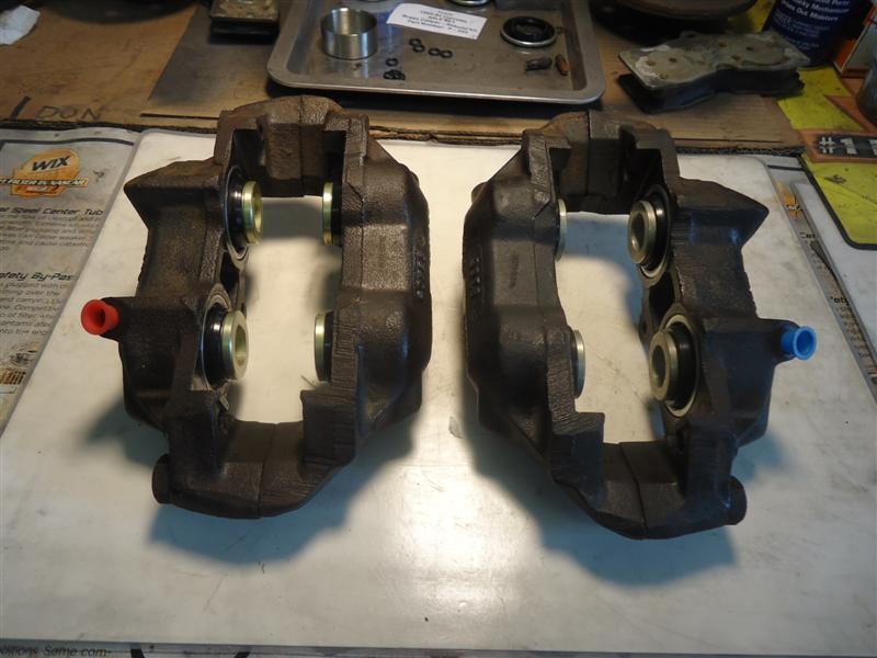 Corvette caliper rebuild and reassembly