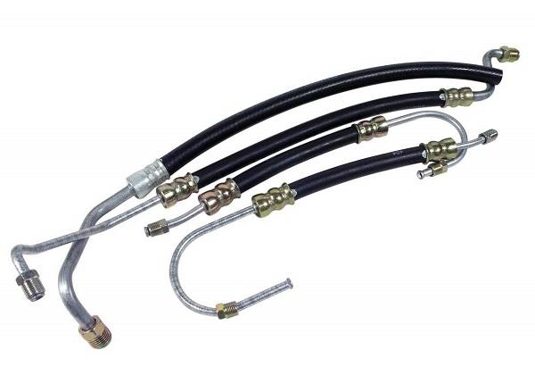 Replace power steering hoses Corvette restoration by Mark Trotta