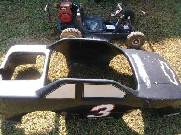 Restore An Old Go Kart