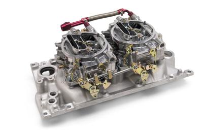 Pontiac dual quad intake manifold