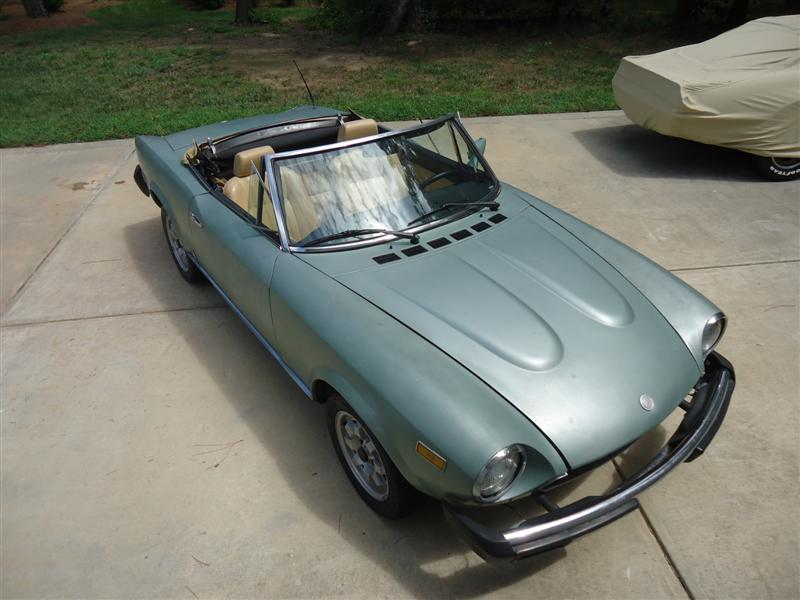 1979 Fiat Spider restoration by Mark Trotta