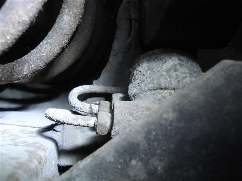 Fiat Spider brake compensator