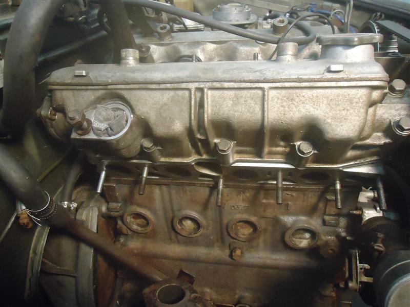 Fiat Spider exhaust manifold