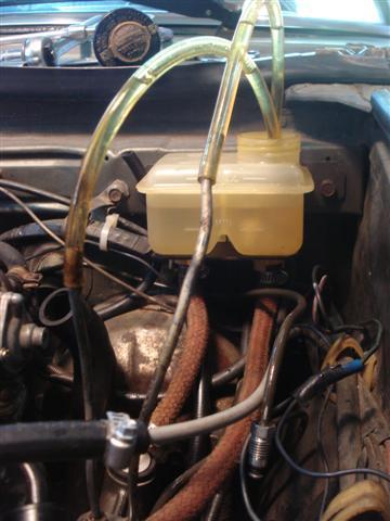 Fiat Spider brakes
