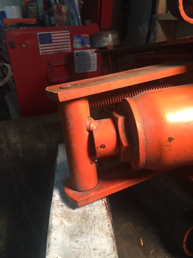 restore an old floor jack