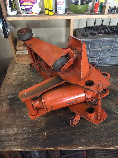 floor jack reassembly