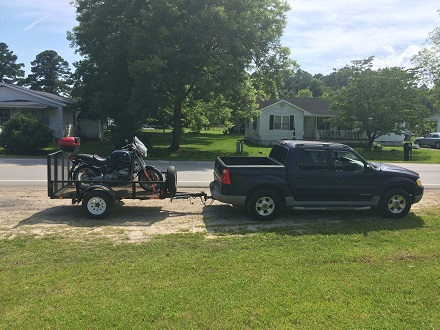 Ford Sport Trac towing