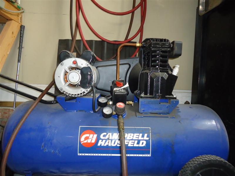 garage air compressor for automotive repair