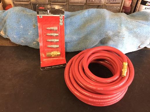 air hose for garage compressor