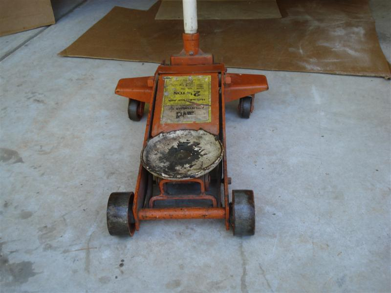 repair an old floor jack