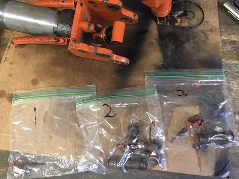 repair an old floor jack