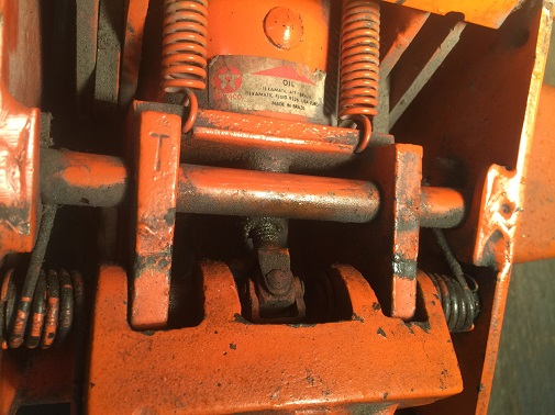floor jack disassembly