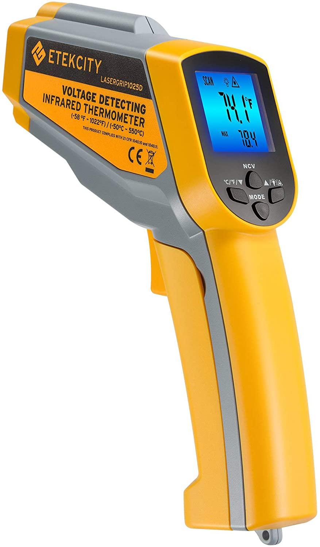 infrared heat gun for diagnosing bad catalytic converter