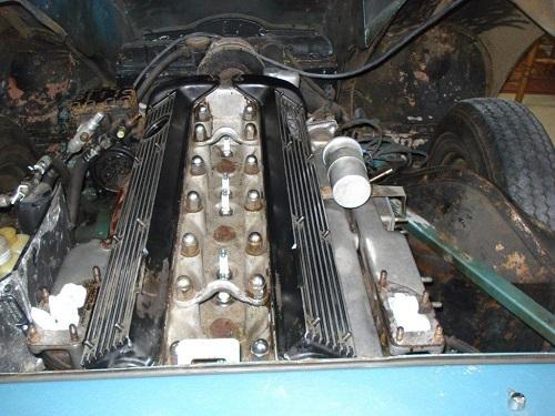 Jaguar XKE twin-cam engine restoration