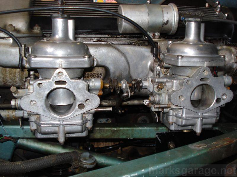 Jaguar Z-S carburetors