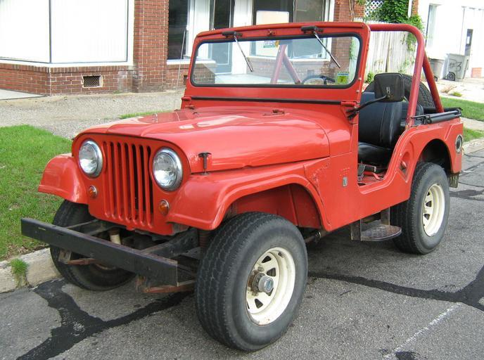 engine swap choices for CJ5 Jeep