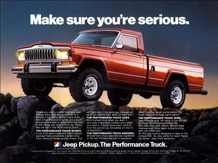 Jeep Gladiator pickup truck