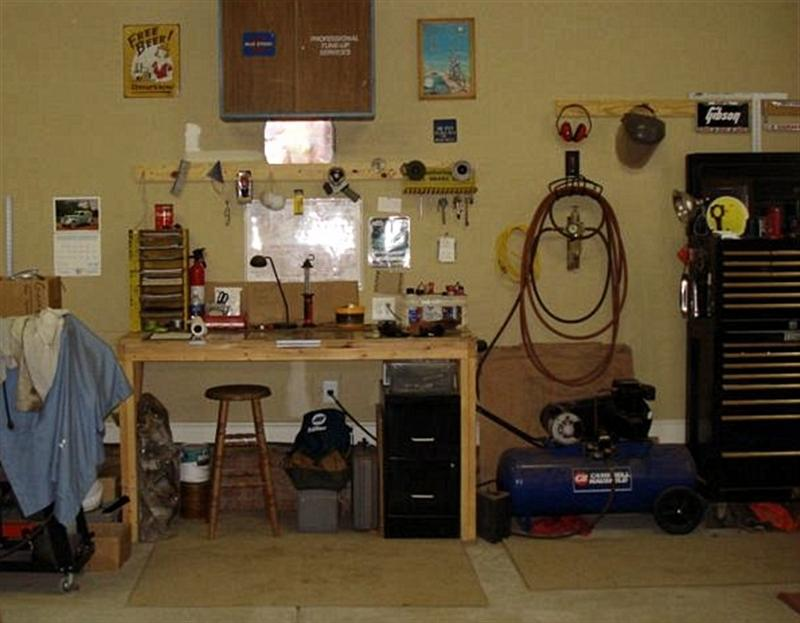 Set Up Garage Workshop