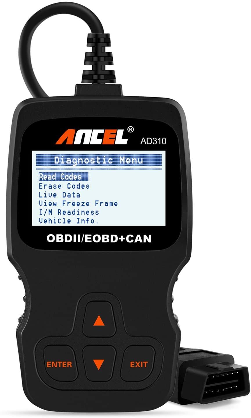 OBD2 code scanner tool for diagnosing bad air pump