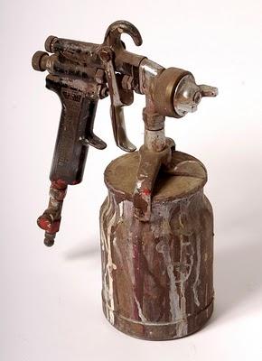 automotive spray gun selection