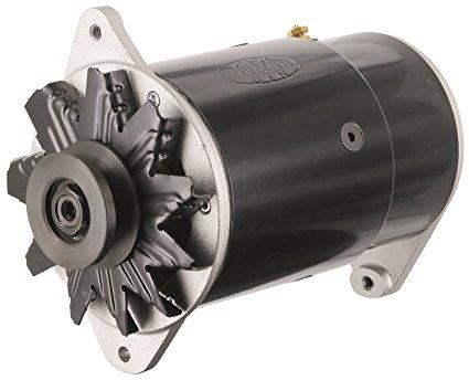 convert 6v generator to 12v aftermarket alternator