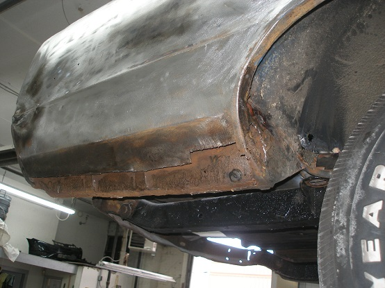 Repair Rust On Body Panel