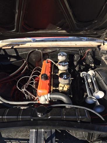Stovebolt 6 engine